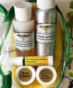 Blessed Botanicals Travel Pack In Bag