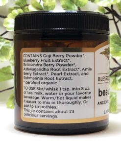 Blessed Botanicals Beauty Food Ingredients