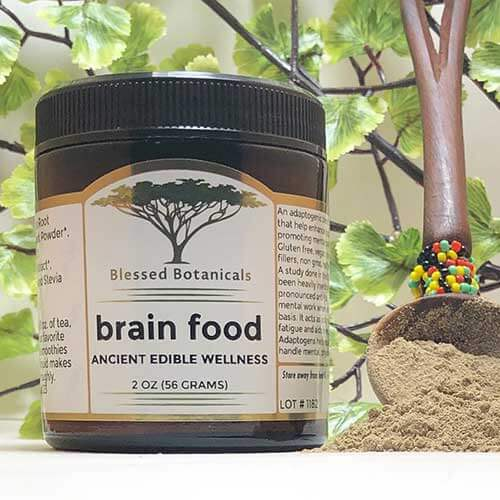 Blessed Botanicals Brain Food Jar