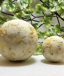 Blessed Botanicals Bliss Bath Bombs Neroli & Calendula Both Sizes